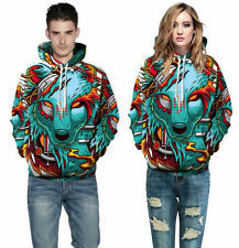 Men Women 3D Graphic Print Hoodie Sweater Sweatshirt Jacket Coat Pullover Tops