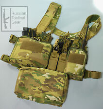 MBC russe D3CR-H lourd tactique Chest Rig (Multicam) + Universal Pouch