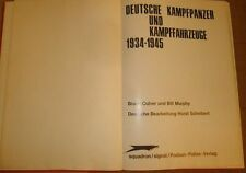 German tank book published 1964  about world war II tanks tigers, panzer and etc