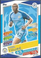 TOPPS MATCH ATTAX CHAMPIONS LEAGUE 2016-17 #MC10-MANCHESTER CITY-YAYA TOURE