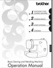 Brother LX3125 Sewing Machine Instruction Manual Users Guide PDF on CD