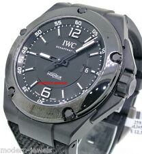 IWC Ingenieur Automatic AMG Black Ceramic Mens Watch IW322503 !