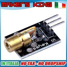 AM051 - Modulo LASER 5V 5mW rosso Arduino Raspberry PIC ARM DIY