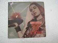 SON OF INDIA NAUSHAD TAE 1102 1962 RARE BOLLYWOOD india Hindi EP RECORD VG+