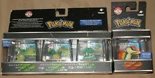 Pokemon Trainer's Choice Figures Lot Turtwig/Grotle/Torterra/Cyndaquil - NEW