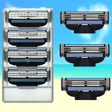 4 Blades For Gillette MACH 3 Razor Shaving Shaver Trimmer Refills Cartridges AB