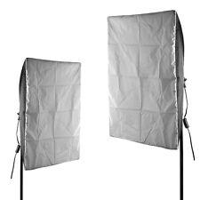 "2x Photography Photo Video Studio 26""X18""Softbox Lighting Kit For E27 Light Bulb"