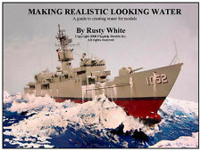 "HOW TO MODELING CD  ""Creating Realistic Water"" by Rusty White (8 pages)"