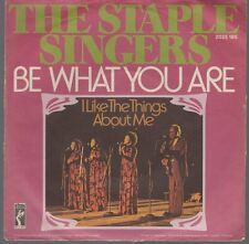 "7"" Staple Singers Be What You Are / I Like The Things About Me 70`s STAX Records"