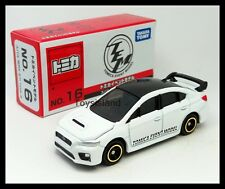 TOMICA 2016 EVENT MODEL 16 SUBARU WRX STI TYPE S 1/62 TOMY DIECAST CAR 112