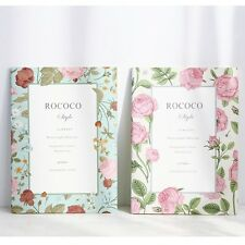 """""""Miss Rococo"""" Pack of 4 Lined Exercise Book Cute Study Notebook Diary Notepad"""