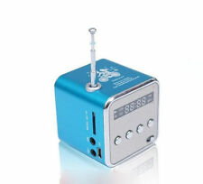 Cube MP3 player speaker with FM function, USB, TF card port