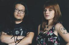 "Best Coast Signed 4x6 Photo Bethany Cosentino Bobb Bruno ""The Only Place"" COA"
