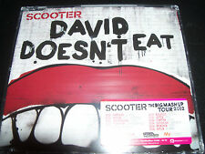 Scooter David Doesn't Eat EU CD Single - New