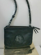 Mimco Leather MIM Supernatural Couch Hip Across body Hand Bag Brand New Black