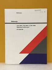 Tektronix 071-0504-00, TDS 500D, 600C & 700D Oscilloscopes Reference Manual