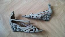 Sandales barbara bui taille 39,5 beige