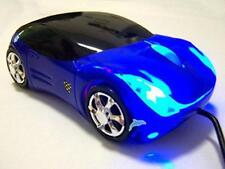 HOT! Brand NEW Cool Blue Car Shape USB 3D Optical Mouse Mice For PC/Laptop