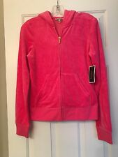 NWT JUICY COUTURE HOODIE TRACKSUIT CHOOSE JUICY PINK SWEET GRENADINE Sz M $128