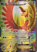 Pokemon Card: HO-OH EX 121/122 XY Breakpoint Holo Full Art Ultra Rare NM