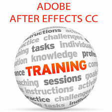 Adobe After Effects CC-formazione VIDEO TUTORIAL DVD