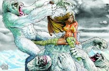 CAVEWOMAN INTERNET EXCLUSIVE - Snow 3 Angry Storm - Sgn/Num Limited to 400