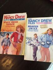 NANCY DREW CASE FILES #3 And #6  By Carolyn Keene 1st Editions