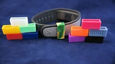Bitbelt 12 pack with different colors, 3 glow for Fitbit Charge or Fitbit Force