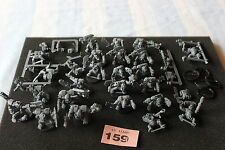 Warhammer 40k Ork Boyz Mob and Nobz Squad Army Assault on Black Reach GW OOP