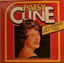 "PATSY CLINE - 20 GREATEST HITS 12"" LP (U394)"