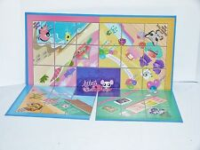 2008 Littlest Pet Shop Hideaway Haven Game Replacement Pieces Game Board