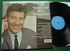 The World of Max Bygraves inc You Need Hands & Tulips from Amsterdam + SPA 9 LP