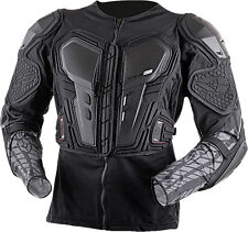 EVS G6 Lite Ballistic Jersey Body Armor LARGE Black Motocross MTB Dirt Bike WP