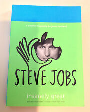 Steve Jobs Insanely Great ARC Paperback Graphic Biography by Jessie Hartland