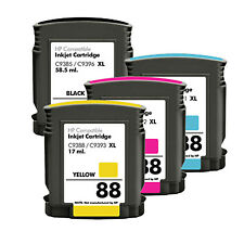 4 Ink Cartridge for HP 88XL Officejet Pro K8600 K8600DN L7400 L7480 L7580 T