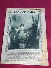 LES ANNALES Politiques et Littéraires n° 2107  -  11 Novembre 1923
