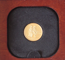 Olympic Gold Proof Coin Canada 1976 $100 Royal Canadian Mint•Original Case Proof