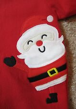 Baby's 1st First Xmas Christmas Santa Snug Sleep Sack Onesie Bunting Sleeper 0-9