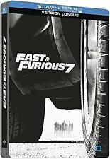 Fast And Furious 7: Vin Diesel Blu-Ray Limited Edition Steelbook