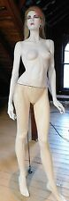 VINTAGE 1990's MANNEQUIN~FULL BODY~WITH ORIGINAL STAND~BLONDE WIG