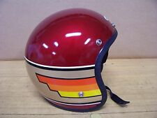 Vintage NOS Buco Motorcycle Helmet Small 1977