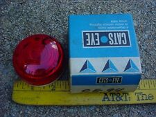 60s 70s maybe NOS CATS EYE CE94 RED LIGHT TURN SIGNAL CLEARANCE TRUCK TRAILER