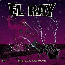 "EL RAY, The Evil Mermaid, 10"", ltd 300 copies purple vinyl denmark 2014"