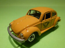 GAMA MINI 898 VW VOLKSWAGEN KAFER 1302 1:43 - OCRE POST - GOOD CONDITION