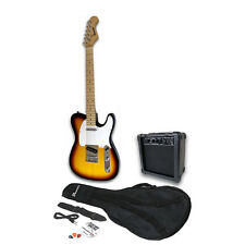 BENSON TL SUNBURST U2 ELECTRIC  GUITAR PACKAGE  AMPLIFIER PACK * FREE DELIVERY *