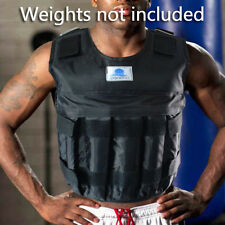 Zooboo 44LBS/20KG Adjustable Weighted Vest Exercise Fitness Training NO Weight