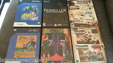 ZZ- LOTE JUEGOS PC - JOINT OPERATION - COMANCHE - PAINKILLER - FARAON - SWAT 3