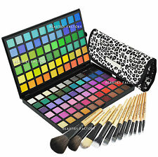 BF 120 Color #3 Eyeshadow Palette 12pcs White Leopard Makeup Brush (89C-177Q)