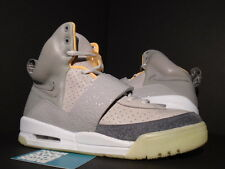 09 NIKE AIR YEEZY KANYE WEST ZEN GREY CHARCOAL WHITE PINK ORANGE 366164-002 9.5