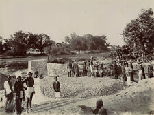 Photo Au Citrate Inde India Ouvriers Vers 1900
